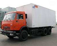 Перевозки по Полтавской области изотермическими фургонами