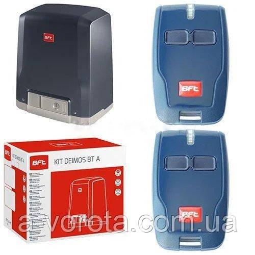 BFT DEIMOS AC A600 KIT електропривод для відкатних воріт(стулка до 600кг)