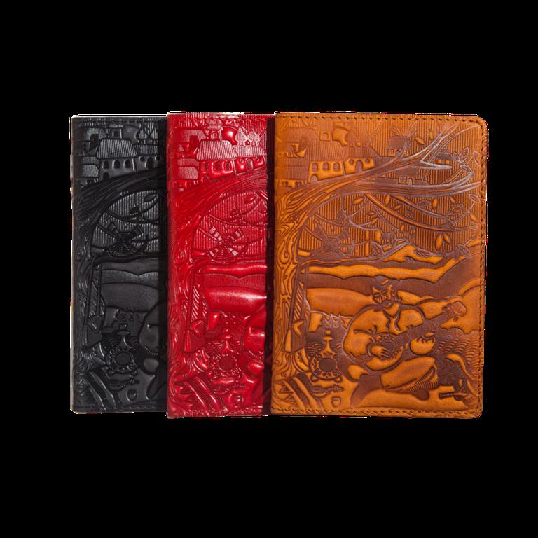 Кожаные обложки на паспорт (женские и мужские) галерея.