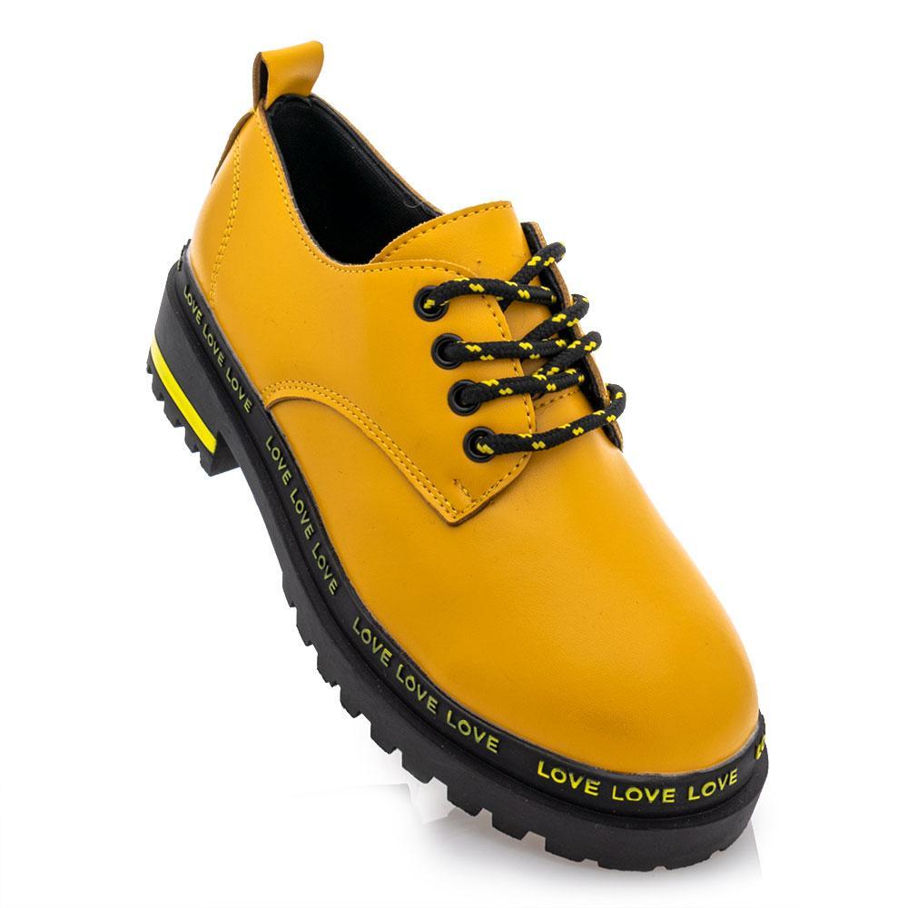 Туфлі для дівчаток Loretta 36 жовті 981356