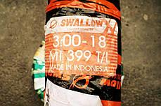 Покришка 3.00-18 SWALLOW MT-399 бескамерка, фото 2