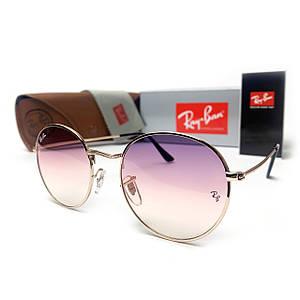 Солнцезащитные Очки R-B Round Metal 3448 C8 Розовые