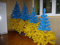 Искусственная елка желто  голубая Патриот  1.8м - от 1 шт