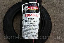 Покрышка 3.00-10 Mototech 9009 камерка, фото 3
