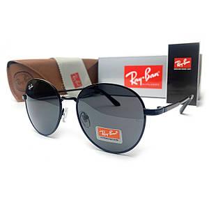 Солнцезащитные Очки R-B Round Metal 663 C1 Черные