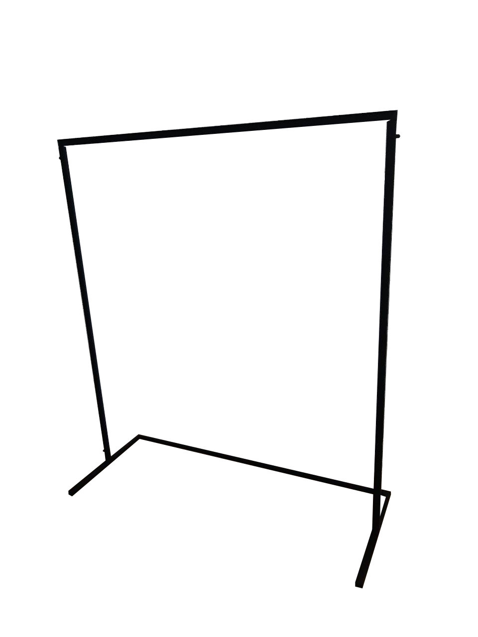 Вешалка стойка для одежды GoodsMetall в стиле Лофт 1700х1500х600мм ВШ111