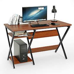 Письменный стол GoodsMetall из металла с полками Лофт 1200х600х750 СТП128