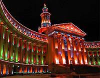 Архитектурное освещение, Архитектурное освещение зданий, Архитектурное освещение городов LED лампами