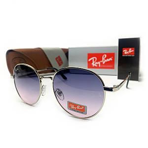 Солнцезащитные Очки R-B Round Metal 663 C7 Градиент Фиолет