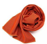 Полотенце для тренировок 30х90 оранжевое, фото 1