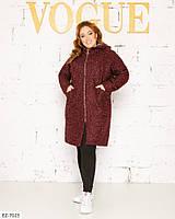 """Пальто жіноче демисезон мод. 220 (50-52, 54-56, 58-60, 62-64) """"N. N. C. FASHION"""" недорого від прямого постачальника"""