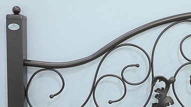 Кровать металлическая Жозефина Металл-Дизайн / Metall Design, фото 2