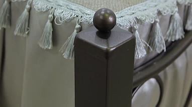 Кровать металлическая Жозефина Металл-Дизайн / Metall Design, фото 3