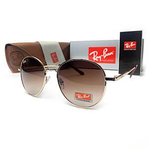 Солнцезащитные Очки R-B Round Metal 663 C5 Коричневый