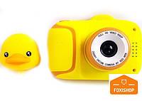 Детский цифровой мини фотоаппарат Cartoon Camera X11 Утенок Duck