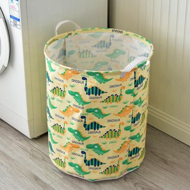Корзина для игрушек, белья, хранения Green dino Berni Home