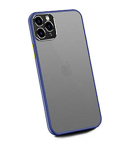 Чехол накладка xCase для iPhone 11 Pro Matt Case Camera Lens Blue green