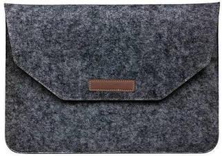 """Папка-конверт Felt sleeve bag для MacBook 13.3"""" dark gray"""