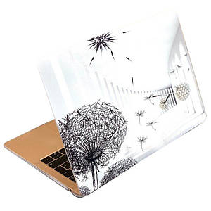 "Чохол накладка DDC пластик для MacBook Air 13"" (2008-2017) picture dandelion"