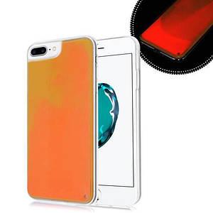 Чохол накладка xCase для iPhone 7 Plus/8 Plus Neon Case orange