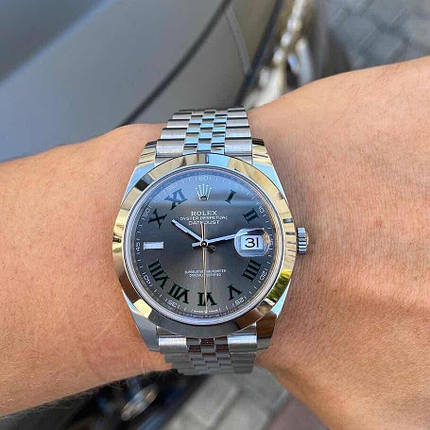 Rolex Datejust Silver-Gray, фото 2