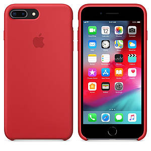 Чохол Silicone Case OEM for Apple iPhone 7 Plus/8 Plus Red