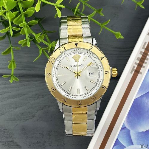 Versace 3104 Silver-Gold Big