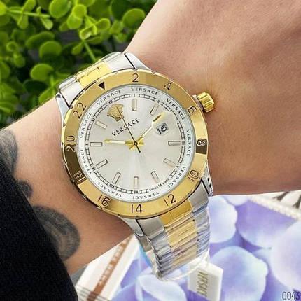 Versace 3104 Silver-Gold Big, фото 2