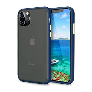 Чохол накладка xCase для iPhone 11 Pro Max Gingle series Blue Green