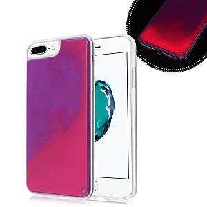 Чохол накладка xCase для iPhone 7 Plus/8 Plus Neon Case rose red