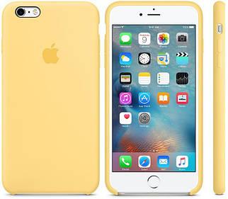 Чехол OEM for Apple iPhone 6 plus/6splus Silicone Case Yellow (MM6H2)