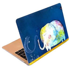 "Чохол накладка DDC пластик для MacBook Air 13"" (2008-2017) picture elephant"