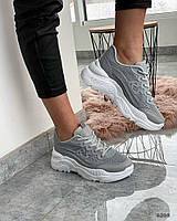 Сірі кросівки 36 розмір, фото 1