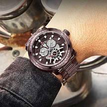 Оригинал! Мужские часы Naviforce NF9158 All Brown, фото 2