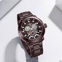 Оригинал! Мужские часы Naviforce NF9158 All Brown, фото 3