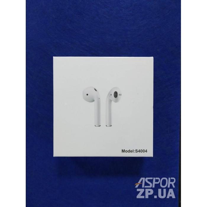 (DS) Bluetooth наушники Aspor AirPods S4004 - белый