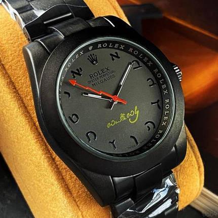 Rolex Milgauss Black-Silver, фото 2