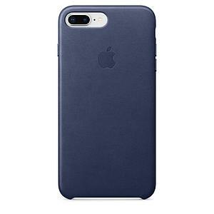 Чохол накладка на iPhone 7 Plus/8 Plus Leather Case midnight blue