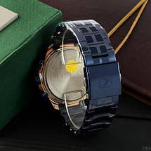 Наручні чоловічі годинники Curren 8337 Blue-Cuprum, фото 3