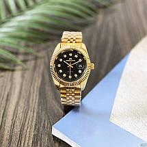 Оригінальні наручні годинники Megalith 0038M Gold-Black Diamonds   Оригінал Мегаліт, фото 3