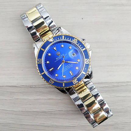Rolex GMT-Master Silver-Gold-Blue, фото 2
