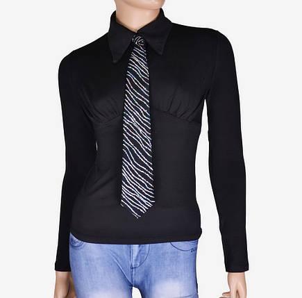 Женская блуза с галстуком (арт. WO3636), фото 2