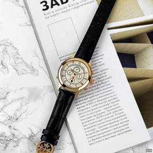 Чоловічі наручні годинники Patek Philippe Grand Complications 5002 Sky Moon Black-Gold-White Механічні