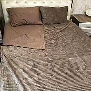 Плюшевый комплект постельного белья  (евро размер), фото 2