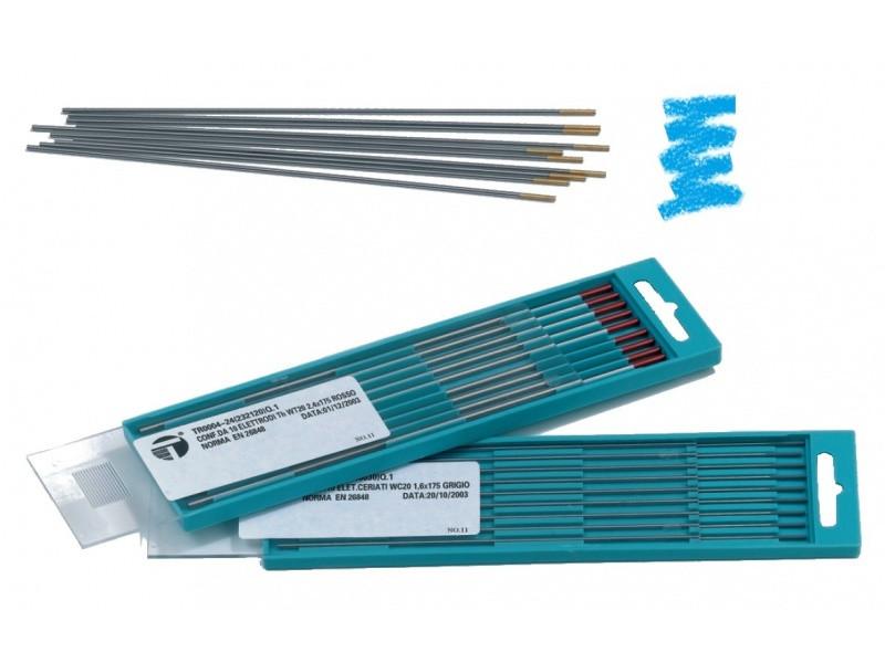 Вольфрамовые электроды WL20 Синий Trafimet