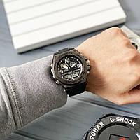 Мужские спортивные наручные часы Casio G-Shock GLG-1000 All Black / Чоловічі спортивні годинники,