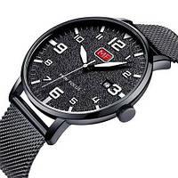Оригінальні наручні годинники Mini Focus MF0158G.08 Black-White | Оригінал Міні фокус
