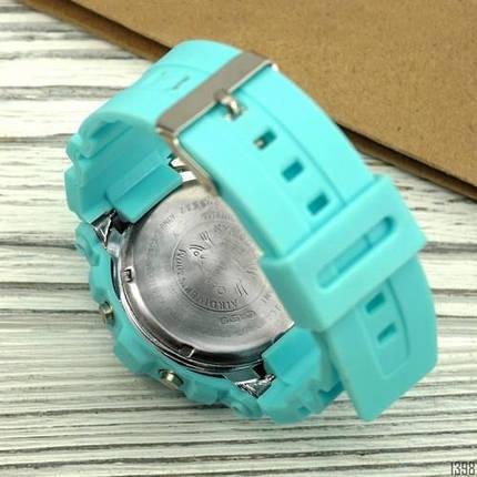 Наручний годинник Касіо якісна копія Baby-G 8200 Turquoise, фото 2