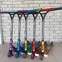 Самокат трюковый Best Scooter , ПЕГИ, Система-HIC, алюминиевый диск, фото 1
