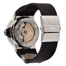 Ulysse Nardin Maxi Marine AAA Silver-Black, фото 3